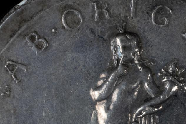 Detail from the Sackville medal, 1733 ©Museum of Freemasonry, London